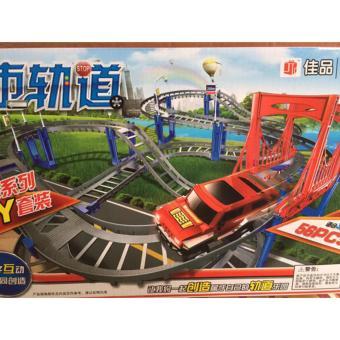 Bộ đồ chơi đường đua siêu tốc 56 chi tiết