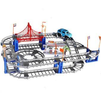 Bộ đồ chơi lắp ghép đường ray Ô tô thông minh cho bé