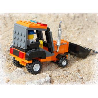 Bộ đồ chơi lego xếp hình Wange máy xúc - Xe công trường - 5