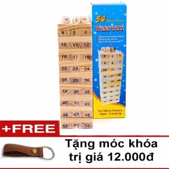 Bộ đồ chơi rút gỗ 54 thanh(tặng móc khóa da) - 8176898 , HA579TBAA3EMRSVNAMZ-5996115 , 224_HA579TBAA3EMRSVNAMZ-5996115 , 59000 , Bo-do-choi-rut-go-54-thanhtang-moc-khoa-da-224_HA579TBAA3EMRSVNAMZ-5996115 , lazada.vn , Bộ đồ chơi rút gỗ 54 thanh(tặng móc khóa da)