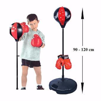 Bộ Đồ Chơi Tập Boxing Cho Bé/Đồ chơi thể thao trẻ em đấm bốc (Red) - 8347978 , NO007TBAA3RLKGVNAMZ-6720658 , 224_NO007TBAA3RLKGVNAMZ-6720658 , 400000 , Bo-Do-Choi-Tap-Boxing-Cho-Be-Do-choi-the-thao-tre-em-dam-boc-Red-224_NO007TBAA3RLKGVNAMZ-6720658 , lazada.vn , Bộ Đồ Chơi Tập Boxing Cho Bé/Đồ chơi thể thao trẻ em đấm