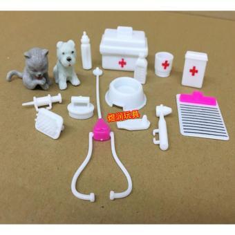 Bộ đồ chơi tập làm bác sỹ cho bé 15 món