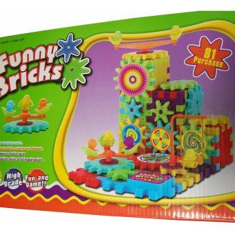 Bộ đồ chơi xếp hình chuyển động Funny Bricks