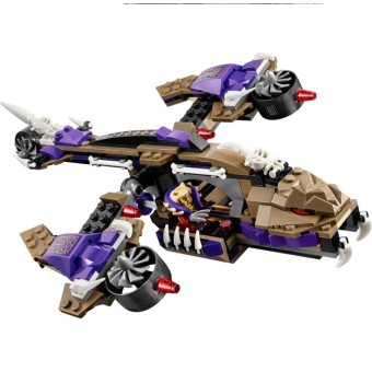 Bộ LEGO NINJAGO máy bay độc xà 70746 (311 chi tiết) - 3