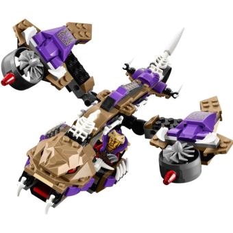 Bộ LEGO NINJAGO máy bay độc xà 70746 (311 chi tiết) - 4