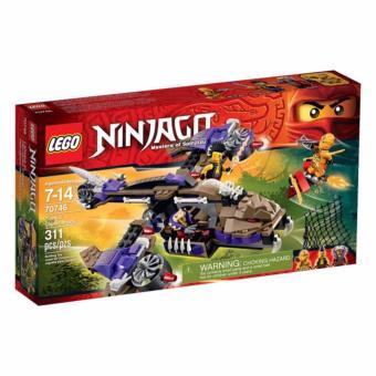Bộ LEGO NINJAGO máy bay độc xà 70746 (311 chi tiết)