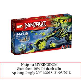 Bộ LEGO NINJAGO Xe phục kích 70730 (298 chi tiết)