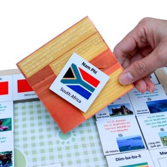Bộ nhận biết cờ quốc tế Châu Phi Poomko EB02.14 - 4