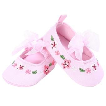 Bowknot Newborn Baby Girl Shoes Soft Sole Anti-SlipPrewalker(Pink)(11cm) - intl - 8818960 , VA466TBAA7ZI7KVNAMZ-15246091 , 224_VA466TBAA7ZI7KVNAMZ-15246091 , 252000 , Bowknot-Newborn-Baby-Girl-Shoes-Soft-Sole-Anti-SlipPrewalkerPink11cm-intl-224_VA466TBAA7ZI7KVNAMZ-15246091 , lazada.vn , Bowknot Newborn Baby Girl Shoes Soft Sole An