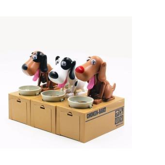 Chó ăn xu (Choken Bako Robotic Dog Bank)màu ngẫu nhiên