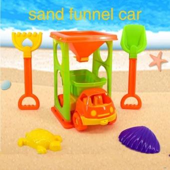 Colorful Car Truck Sand Funnel Shovel Rake Beach Toy Set - intl - 8654205 , OE680TBAA83996VNAMZ-15531946 , 224_OE680TBAA83996VNAMZ-15531946 , 246000 , Colorful-Car-Truck-Sand-Funnel-Shovel-Rake-Beach-Toy-Set-intl-224_OE680TBAA83996VNAMZ-15531946 , lazada.vn , Colorful Car Truck Sand Funnel Shovel Rake Beach Toy Set