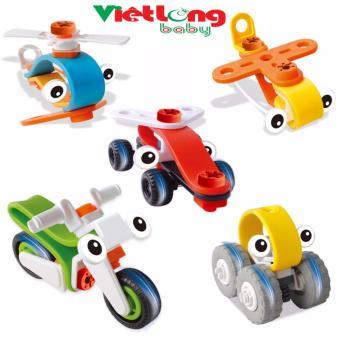 Combo 5 bộ đồ chơi lắp ghép