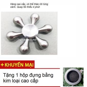 Con quay 6 cánh Fidget Spinner cao cấp không ma sát xả stress (màu bạc) - 8149385 , FI125TBAA4T8WHVNAMZ-8867277 , 224_FI125TBAA4T8WHVNAMZ-8867277 , 189000 , Con-quay-6-canh-Fidget-Spinner-cao-cap-khong-ma-sat-xa-stress-mau-bac-224_FI125TBAA4T8WHVNAMZ-8867277 , lazada.vn , Con quay 6 cánh Fidget Spinner cao cấp không ma sát
