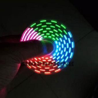 Con quay fidget spiner bản đặc biệt 18 kiểu sáng đèn led