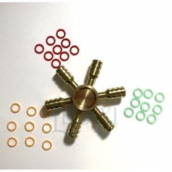 Con Quay Hand Fidget Spinner 6 cánh 30-120 giây Legaxi HSCT Tặng 27Vòng cao su