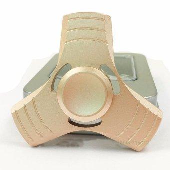Con quay hồi chuyển ngón tay Gyroscope 3 cánh giải tóa street áplực (vàng đồng)
