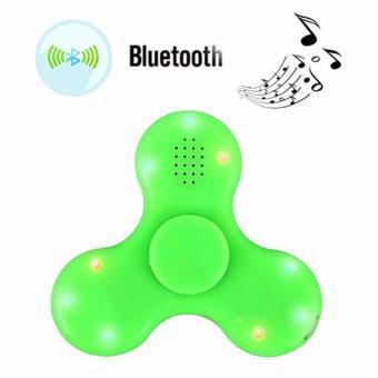 Con Quay Xả Stress Fidget Spinner 3 Cánh Đèn LED Tích Hợp LoaBluetooth