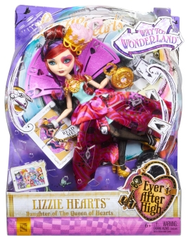 Công chúa trái tim Ever After High Way Too Wonderland Lizzie Hearts Doll