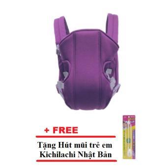 Địu em bé 4 tư thế (Tím) + Tặng 1 Hút mũi trẻ em Kichilachi NhậtBản - 8637109 , OE680TBAA3LZBIVNAMZ-6410538 , 224_OE680TBAA3LZBIVNAMZ-6410538 , 200000 , Diu-em-be-4-tu-the-Tim-Tang-1-Hut-mui-tre-em-Kichilachi-NhatBan-224_OE680TBAA3LZBIVNAMZ-6410538 , lazada.vn , Địu em bé 4 tư thế (Tím) + Tặng 1 Hút mũi trẻ em Kichilac