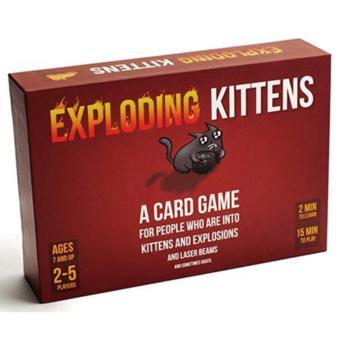 Đồ chơi Boardgame Exploding Kittens - Mèo Nổ - 8253719 , LO833TBAA2PWTEVNAMZ-4666495 , 224_LO833TBAA2PWTEVNAMZ-4666495 , 245000 , Do-choi-Boardgame-Exploding-Kittens-Meo-No-224_LO833TBAA2PWTEVNAMZ-4666495 , lazada.vn , Đồ chơi Boardgame Exploding Kittens - Mèo Nổ