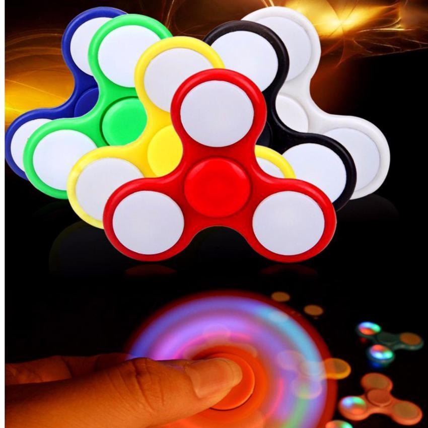 Hình ảnh Đồ chơi con quay Cao Cấp Fidget Spinner LED Hàng Nhập Khẩu