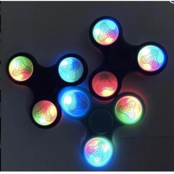 ����� Ch��i Con Quay Gi��p Gi���m Stress Fidget Spinner ����n Led 7 M��u