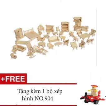 Đánh giá Đồ chơi ghép hình 3D bằng gỗ 184 chi tiết cho bé + Tặng 1 bộ ghép hình No.904  uy tín, chất lượng