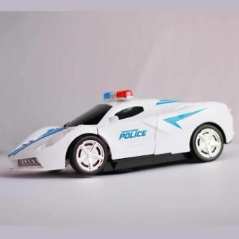 Đồ chơi ô tô biến hình siêu xe cảnh sát H34