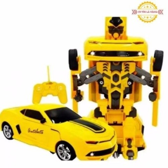 Đồ chơi ô tô biến hình thành Robot (Vàng)