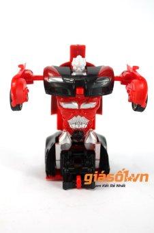 Đồ chơi ô tô mini biến hình thành Robot (Đỏ)