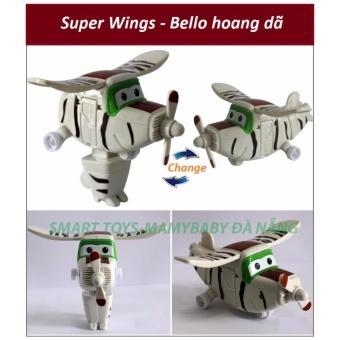 Đội bay siêu đẳng Super wings - Bello hoang dã