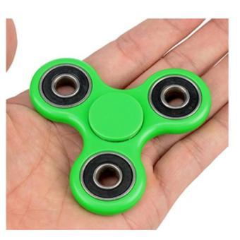 Dụng cụ giải toả áp lực 3 Ngón Tay Hand Spinners (Xanh lá)
