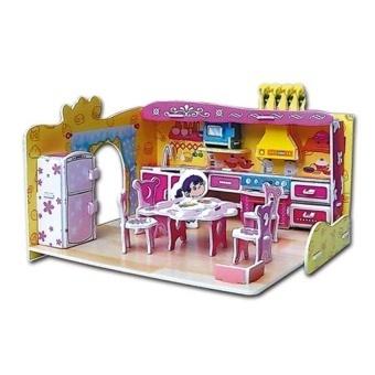 Educational 3D Model Puzzle Jigsaw Mini Kitchen DIY Toy 81 Pcs - intl - 8656096 , OE680TBAA8WRUMVNAMZ-17490437 , 224_OE680TBAA8WRUMVNAMZ-17490437 , 377000 , Educational-3D-Model-Puzzle-Jigsaw-Mini-Kitchen-DIY-Toy-81-Pcs-intl-224_OE680TBAA8WRUMVNAMZ-17490437 , lazada.vn , Educational 3D Model Puzzle Jigsaw Mini Kitchen DI