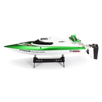 FT009 2.4G 4CH Remote Control High Speed RC Racing Boat with WaterCooling System - intl