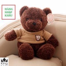 Gấu Bông Teddy Cao Cấp + Áo Len Gấu Khổ Vải 60cm – GB04 – Gấu Teddy Nhập Cao Cấp