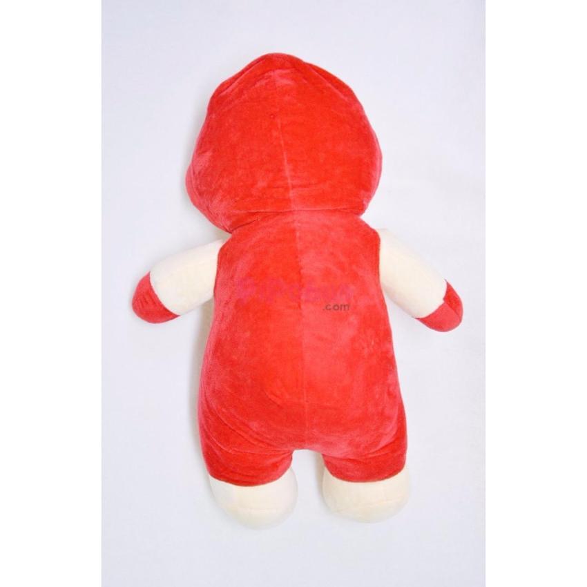 Hình ảnh Gấu bông Teddy nón rời - Màu đỏ Pipopun size 53cm - P02075001600390