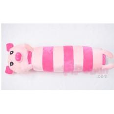Gối ôm cho bé size lớn (60cm) – hình Heo – màu Hồng kem