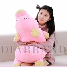 Gối ôm heo bông Nhật màu hồng dài 85cm-OHNTE85 (nhà bán hàng Diabrand)