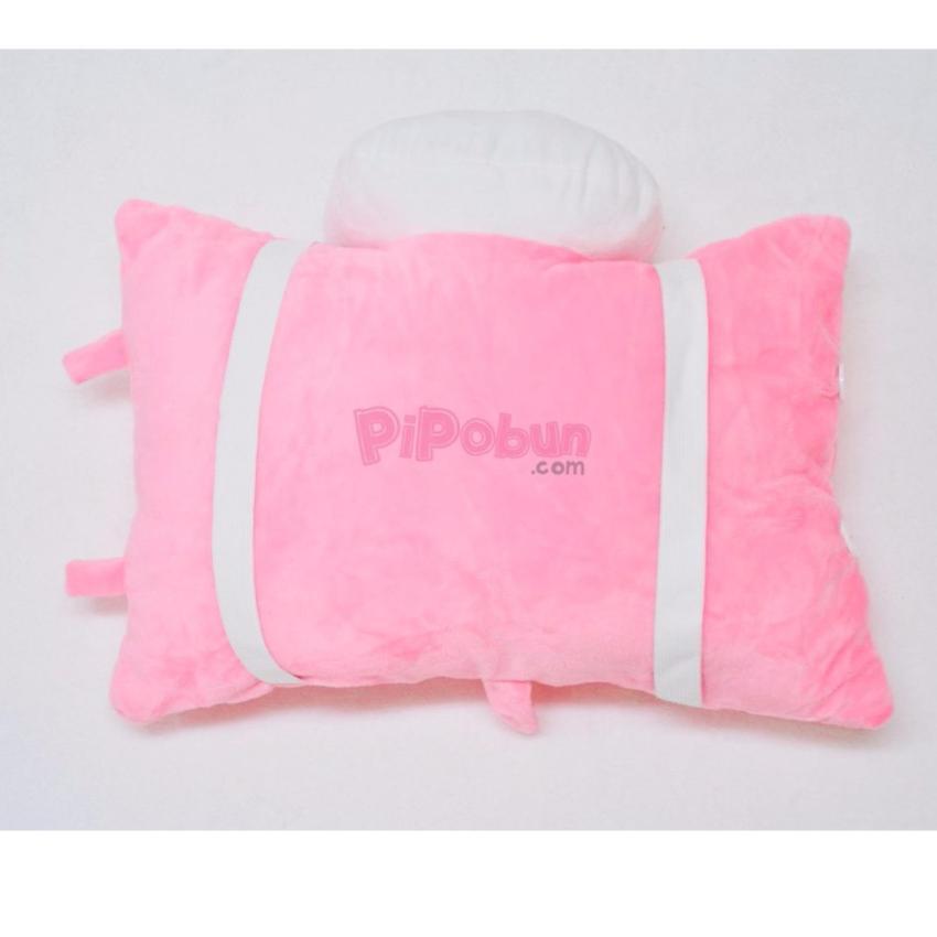 Hình ảnh Gối xe một đầu Pipobun hình Kitty màu hồng - P06023501400360