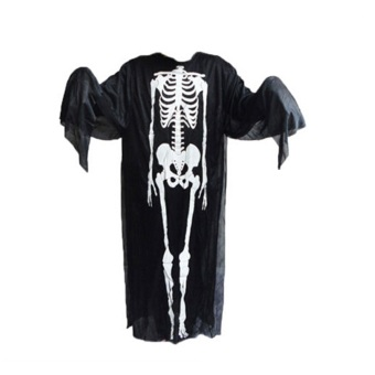 Halloween Costume Decoration Props Dress Adult Skeleton GhostClothes