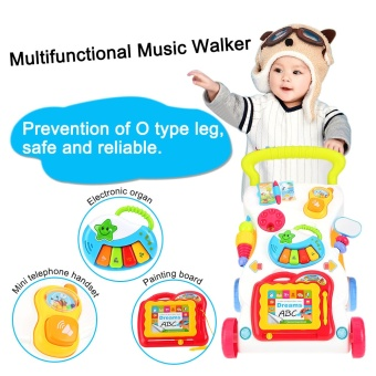 High Quality Baby Walker Multifuctional Toddler Trolley - intl