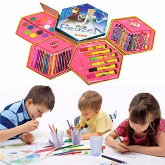 Hộp bút chì màu đa năng 4 tầng xoay cho bé-mẫu 01
