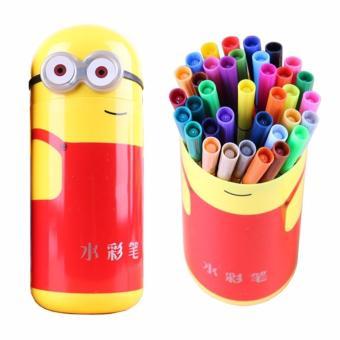 Hộp bút hình minion 36 màu cho bé