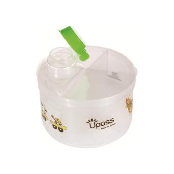Hộp chia sữa tròn 4 ngăn không BPA Upass UP8005CH
