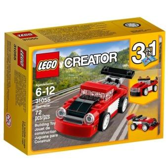 Hộp LEGO Creator 31055 Xe Đua Đỏ Mini 72 chi tiết