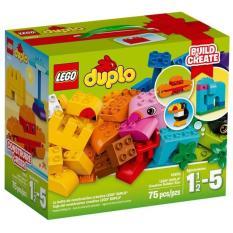 Hộp LEGO Duplo 10853 Lắp Ráp Sáng Tạo 75 chi tiết