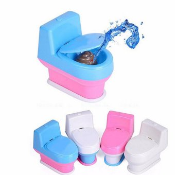 Joke Toy Tricky Water Spray Toilet Seat for April Fools