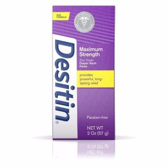 Kem chống hâm cho trẻ Desitin Diaper Rash Paste Maximum Strength 57g