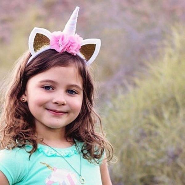 Hình ảnh MagiDeal Girl Headwear Cat Ear Birthday Party Easter Headband Pink- intl