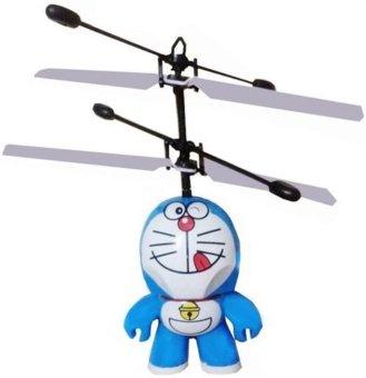 Máy bay hình Doraemon cảm ứng dùng pin sạc(Xanh Navy)